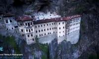 trabzon-sumela-manastir-havadan-cekim